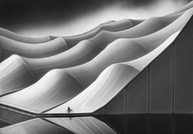 2 место в категории «Архитектура и городские пространства». Крыши стадиона «Оранж Велодром» в Марселе, Франция. Автор Марсель ван Балкен