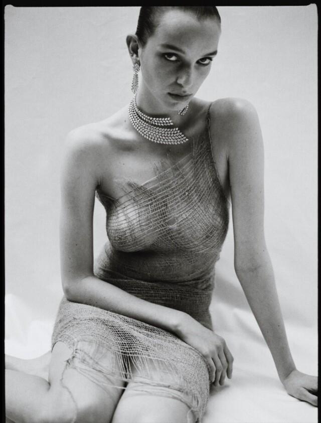 Джамилла Хугенбум в фотосессии для Vogue Россия. Фотограф Соня Шостак
