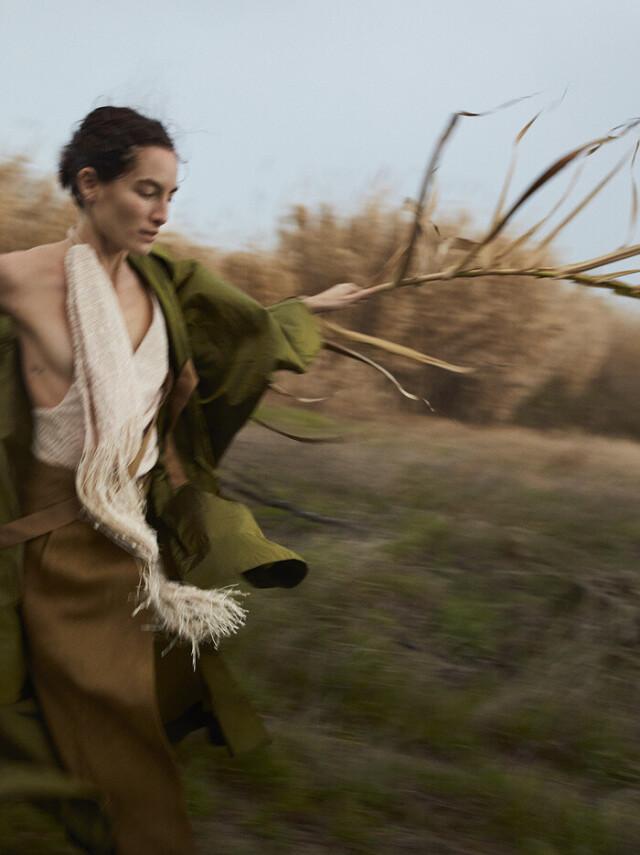 Для Vogue Польша с Хизер Кемески. Фотограф Соня Шостак