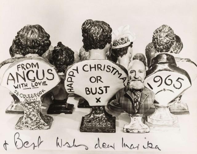 Рождественская открытка, 1965. Ангус МакБин