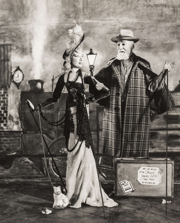 Рождественская открытка, 1985. Ангус МакБин