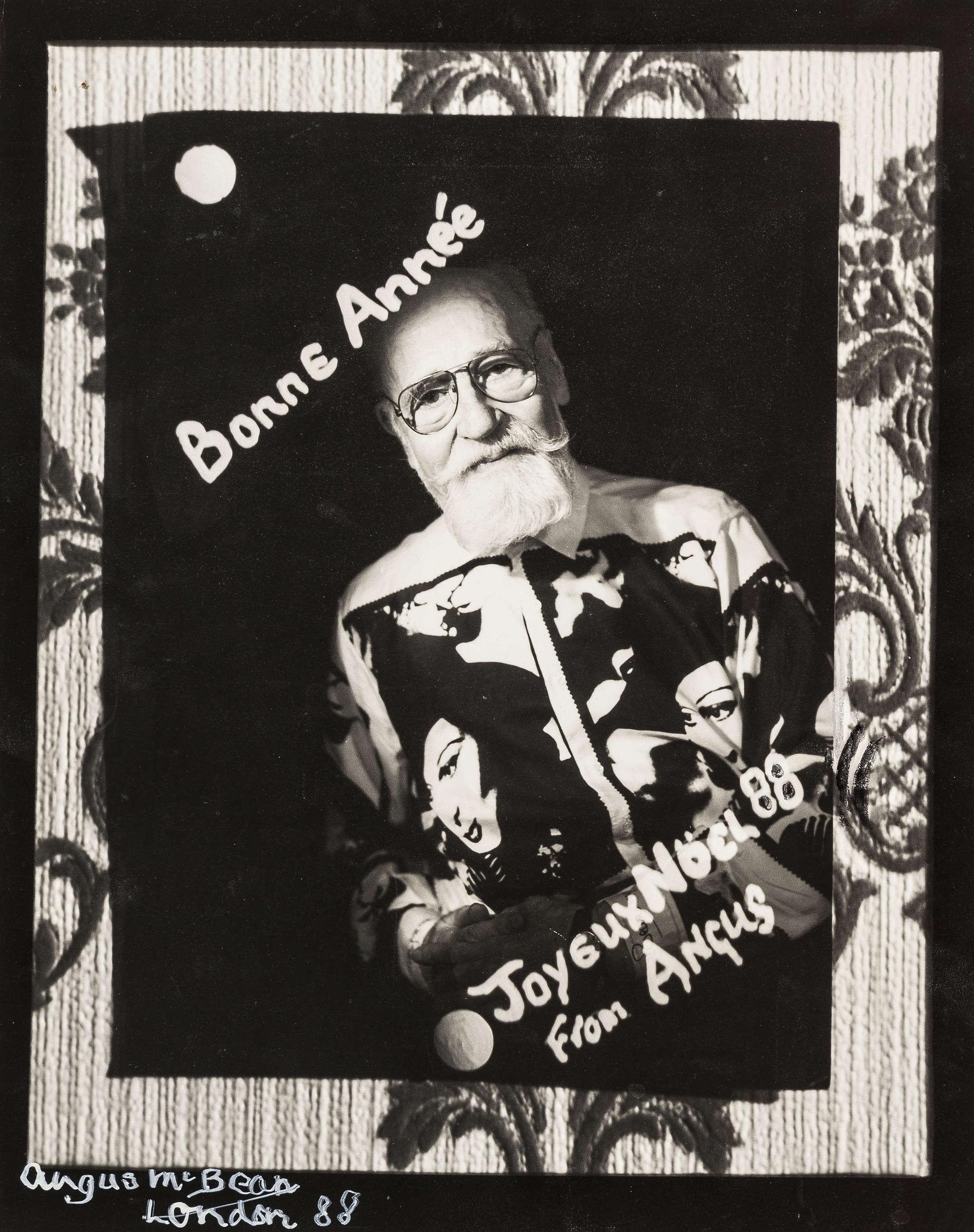 Рождественская открытка, 1988. Ангус МакБин
