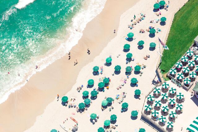 Элитный пляжный клуб Dunes Club, Наррагансетт, Род-Айленд, США. Фотограф Грей Малин
