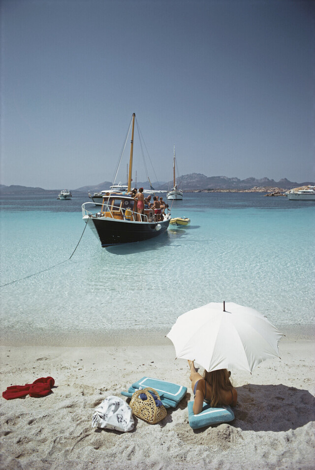 Сардиния, 1967. Фотограф Слим Ааронс