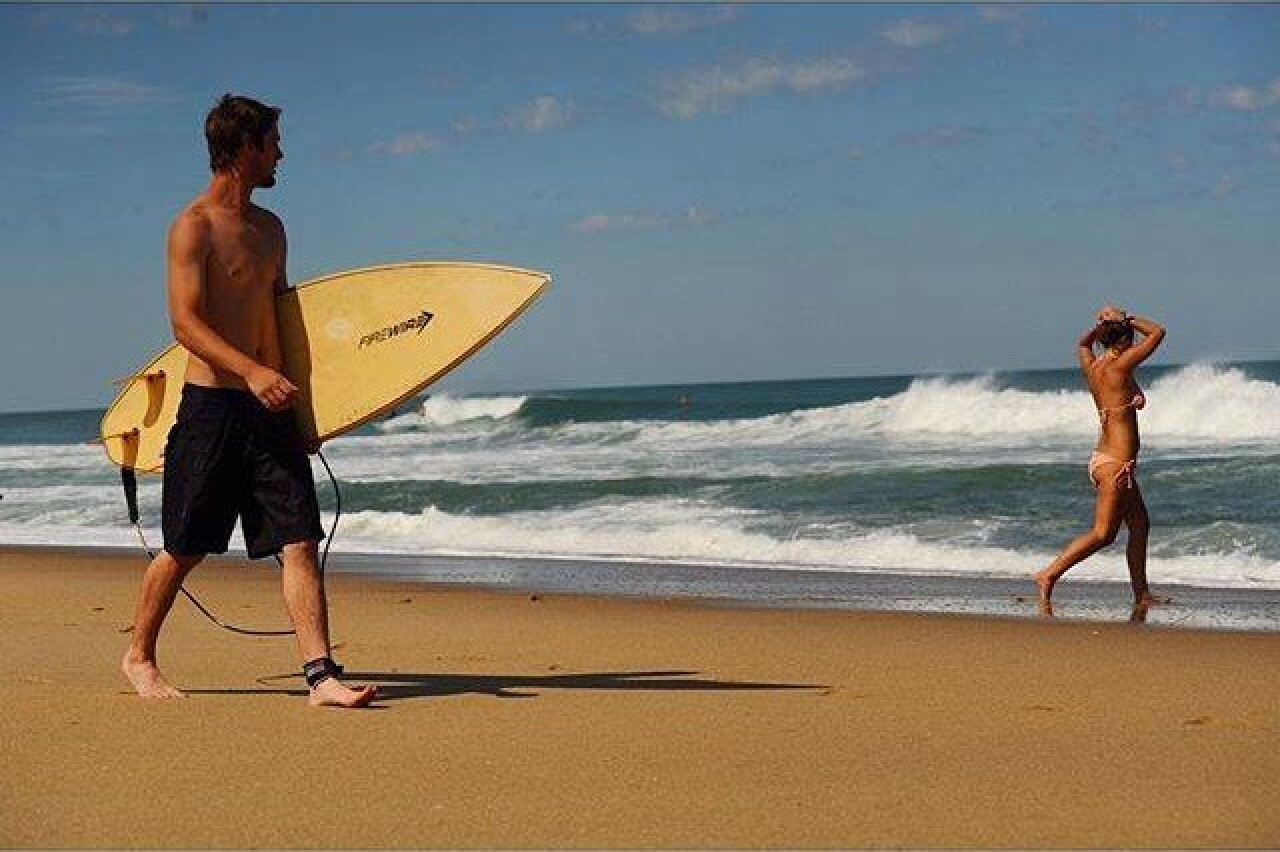 Сёрфингист. Фотограф Дэвид Алан Харви