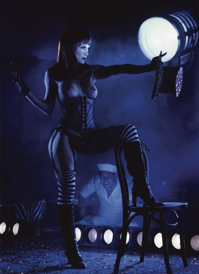 «Pussycat Dolls». Робин Антин и Ричард Коллинз, июнь 1999 года. Фотограф Арни Фрейтаг