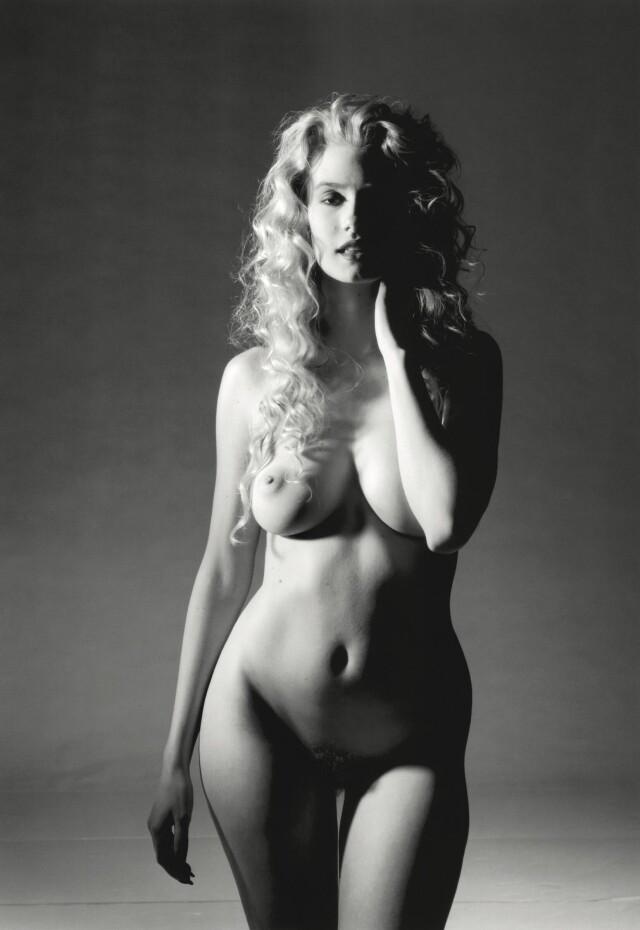 Тина Бократ, декабрь 1990 года. Фотограф Помпео Посар