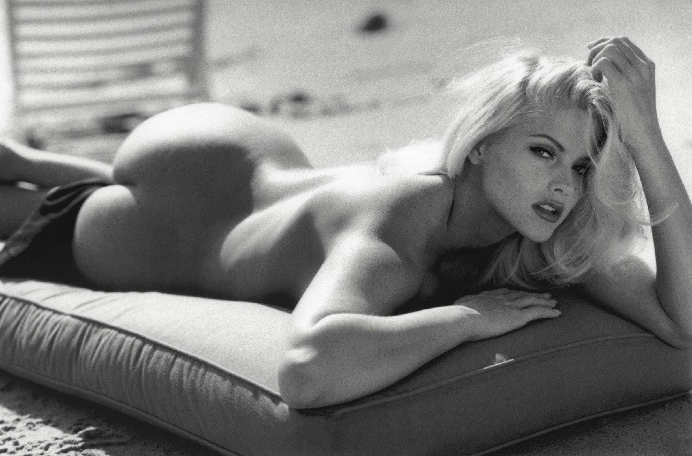 Анна Николь Смит, февраль 2001 года. Фотограф Даниэла Федеричи