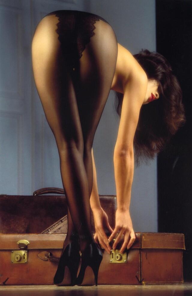«Чистое безумие». Дженни Сзето, Playboy, 1991. Фотограф Байрон Ньюман