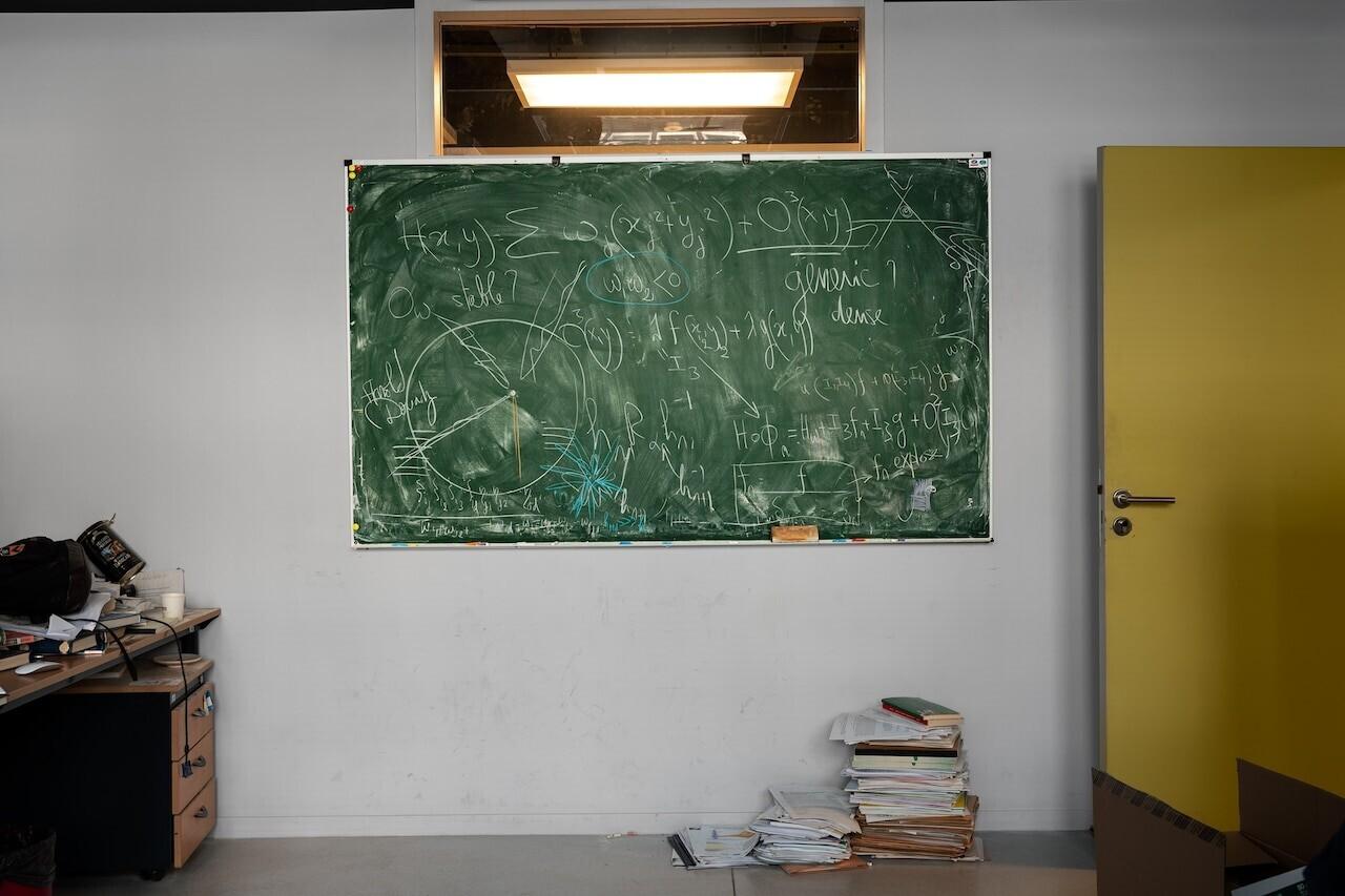 Профессор математики Бассам Файад, Институт математики им. Жасси-Пэрис Рив Гош в Париже. Фотограф Джессика Уинн