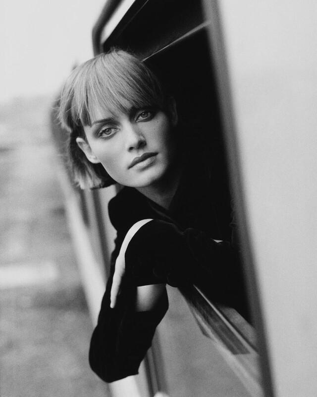 Эмбер Валлетта для Vogue, 1994 год. Фотограф Доминик Иссерманн