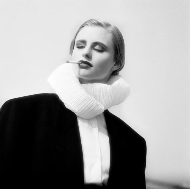 Для Vogue Париж, 1988 год. Фотограф Доминик Иссерманн