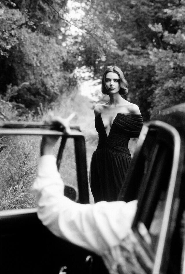Для Vogue Париж, 1992 год. Фотограф Доминик Иссерманн