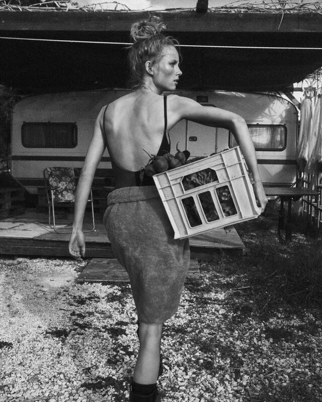 Рианн ван Ромпей, British Vogue. Фотограф Лахлан Бейли