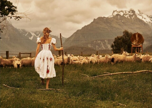 Ребекка Лонгендайк, Новая Зеландия. Фотограф Лахлан Бейли