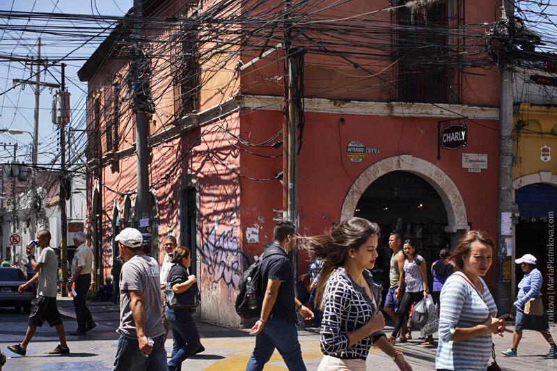 Тегусигальпа, Гондурас, 2017. Фотограф Мария Плотникова