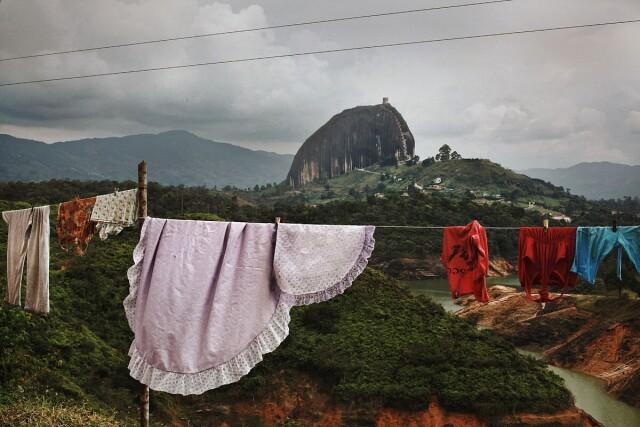 Гуатапе, Колумбия, 2013. Фотограф Мария Плотникова