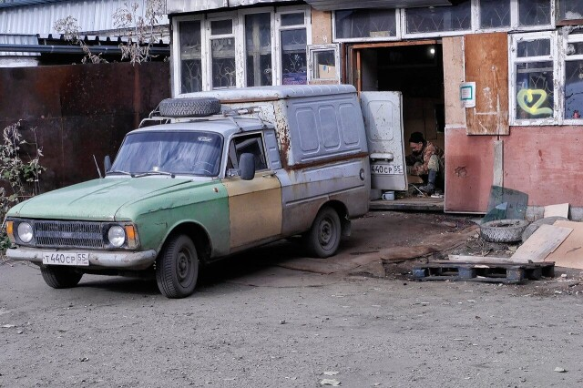 Городок Нефтяников, Омск, 2017. Фотограф Борис Назаренко