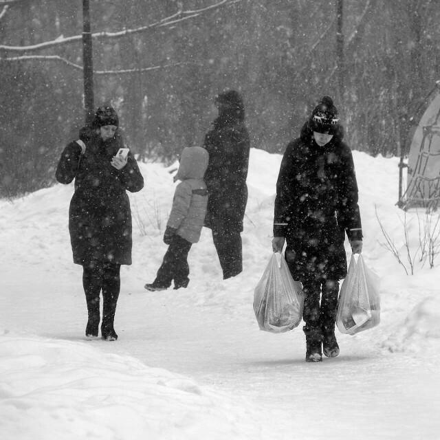 Москва, январь 2021 года. Фотограф Борис Назаренко