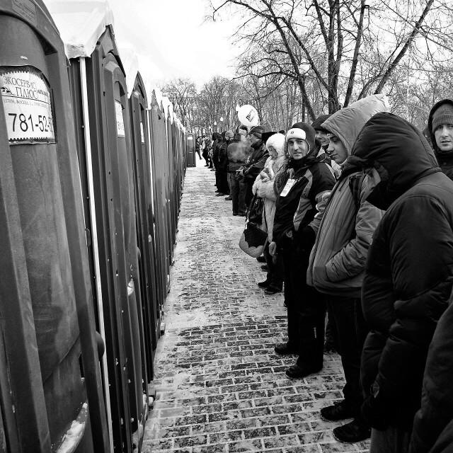 Противостояние. Москва, 2012. Фотограф Борис Назаренко