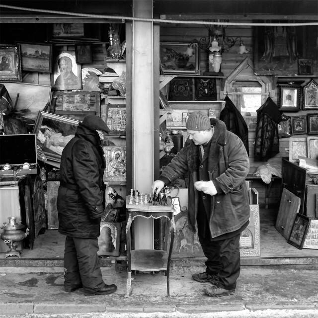 Блошиный рынок в Измайлово, 2012. Фотограф Борис Назаренко