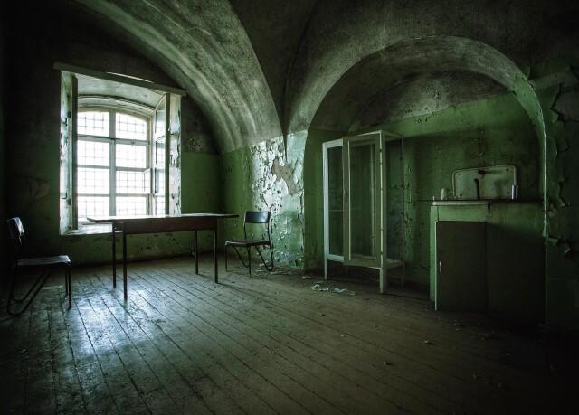 Заброшенная тюрьма в Эстонии. Фотопроект Киммо Пархиала и Тани Палмунен «Заброшенная Скандинавия»