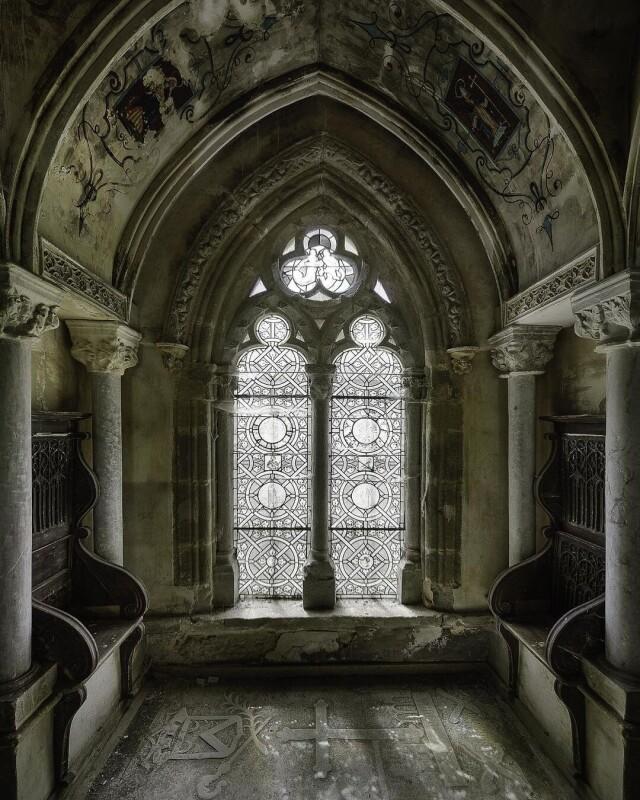 Старая часовня. Фотопроект Киммо Пархиала и Тани Палмунен «Заброшенная Скандинавия»
