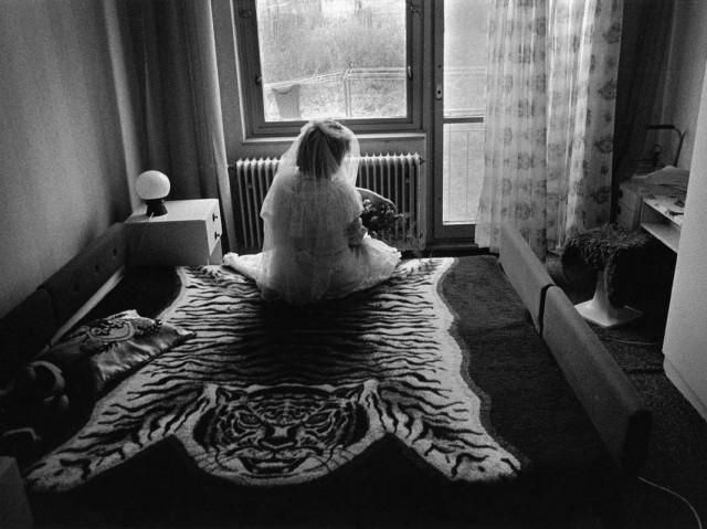 Невеста в Арнолтице, Чехия, 1990. Йиндржих Штрейт