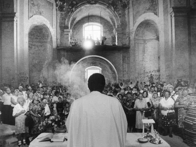 Церковное богослужение из серии «Врата надежды». Йиндржих Штрейт