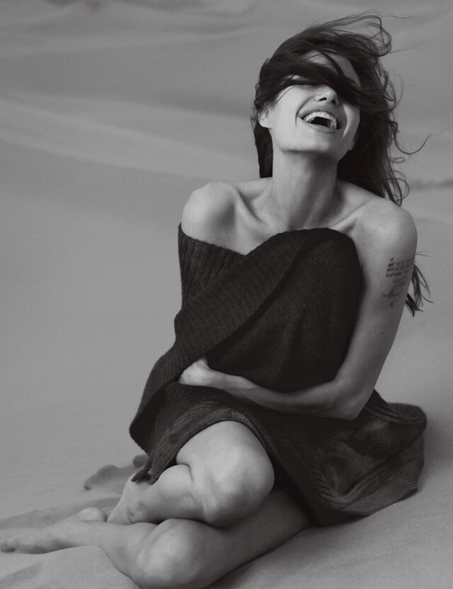 Анджелина Джоли. Фотограф Энни Лейбовиц