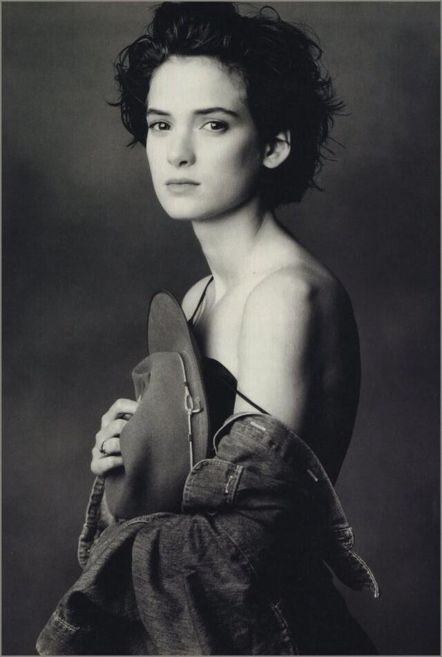 Вайнона Райдер, 1989. Фотограф Энни Лейбовиц