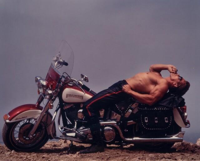 Арнольд Шварценеггер, Лос-Анджелес, 1988. Фотограф Энни Лейбовиц