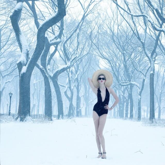 Карли Клосс, Vogue США, 2010. Фотограф Энни Лейбовиц