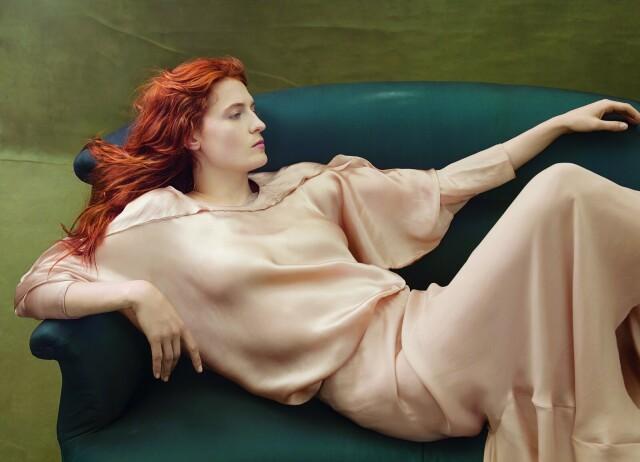 Флоренс Уэлч, Vogue, 2014. Фотограф Энни Лейбовиц
