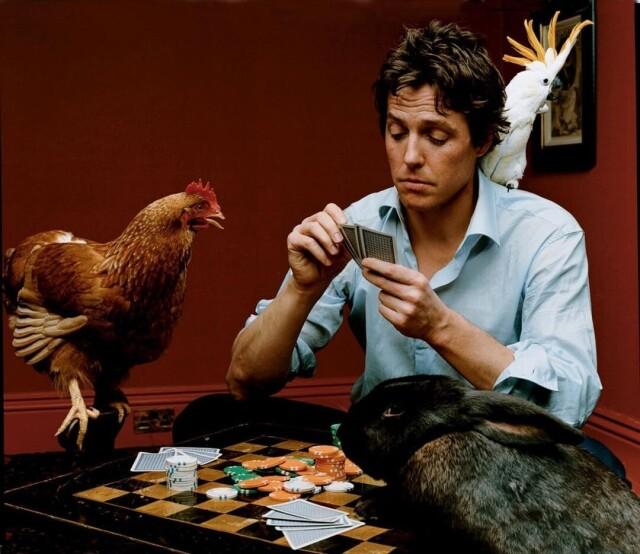 Хью Грант, 2003. Фотограф Энни Лейбовиц