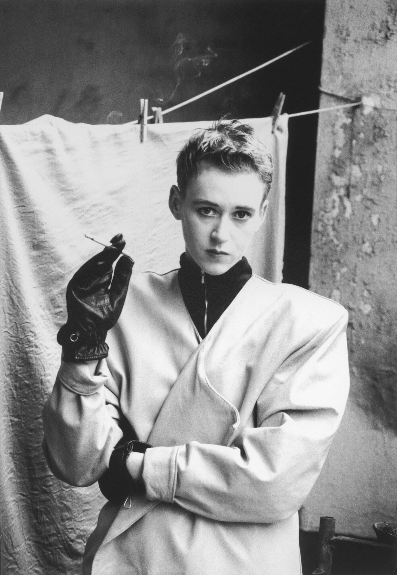 Фрида, независимая группа дизайнеров одежды, модная фотография, Берлин, 1988 год. Фотограф Сибилла Бергеман