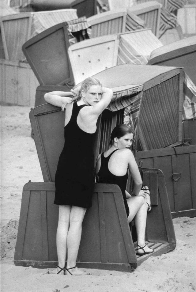 Мариса и Лин, 1981 год. Фотограф Сибилла Бергеман