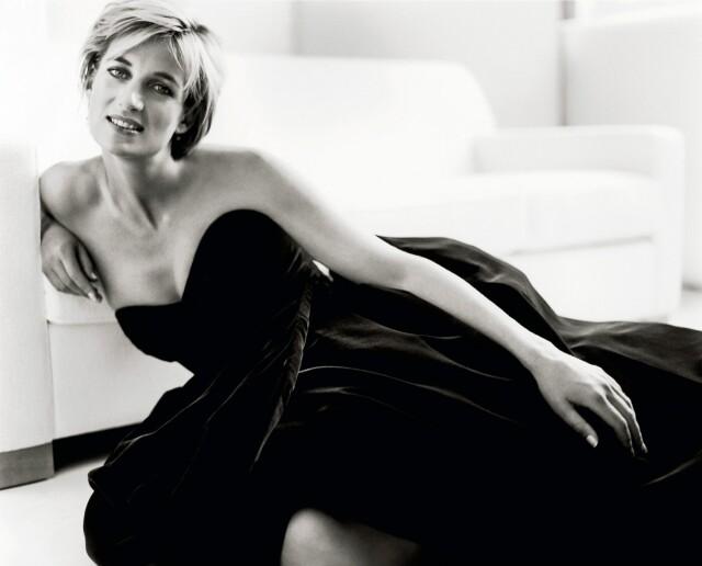 Принцесса Диана, Vanity Fair, 1997. Фотограф Марио Тестино