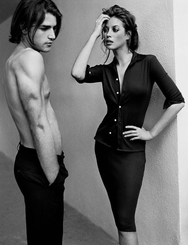 Кристи Тарлингтон, 1995. Фотограф Марио Тестино