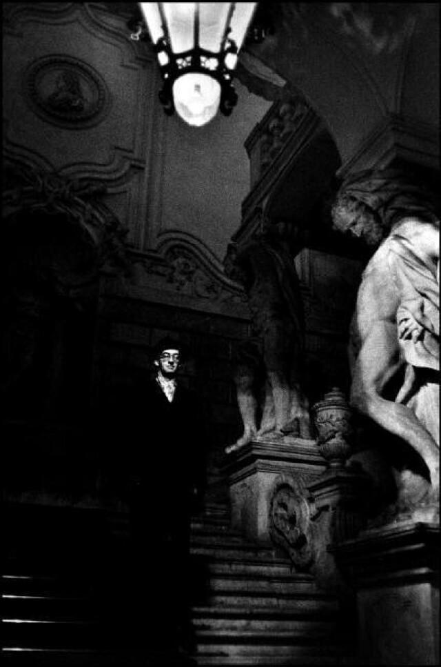 Дворец принца Евгения, Вена, Австрия, 1958 год. Фотограф Инге Морат