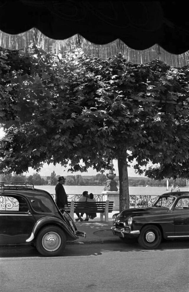 Париж, 1950 год. Фотограф Инге Морат
