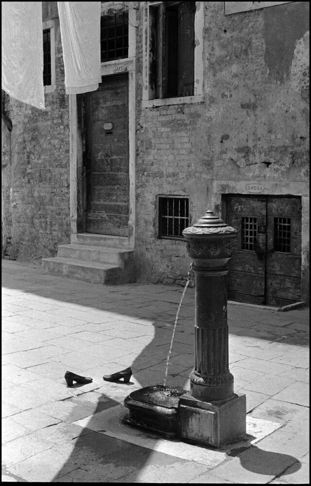 Италия, Венеция, 1955 год. Фотограф Инге Морат