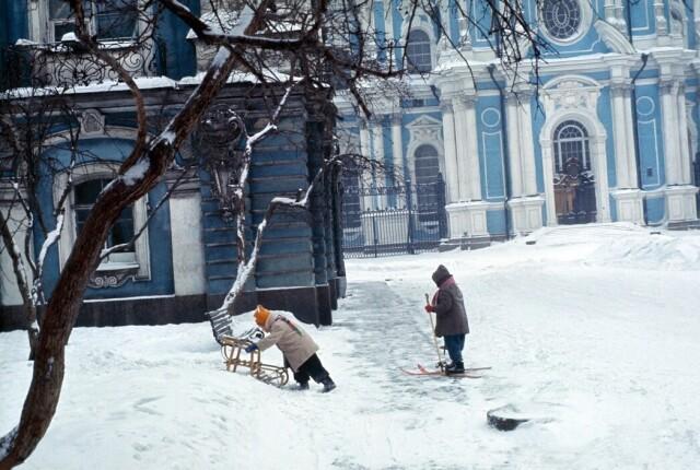 Ленинград,1965 год. Фотограф Инге Морат