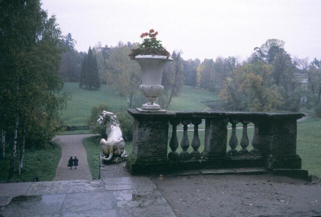 Павловский дворец, Ленинградская область,1989 год. Фотограф Инге Морат