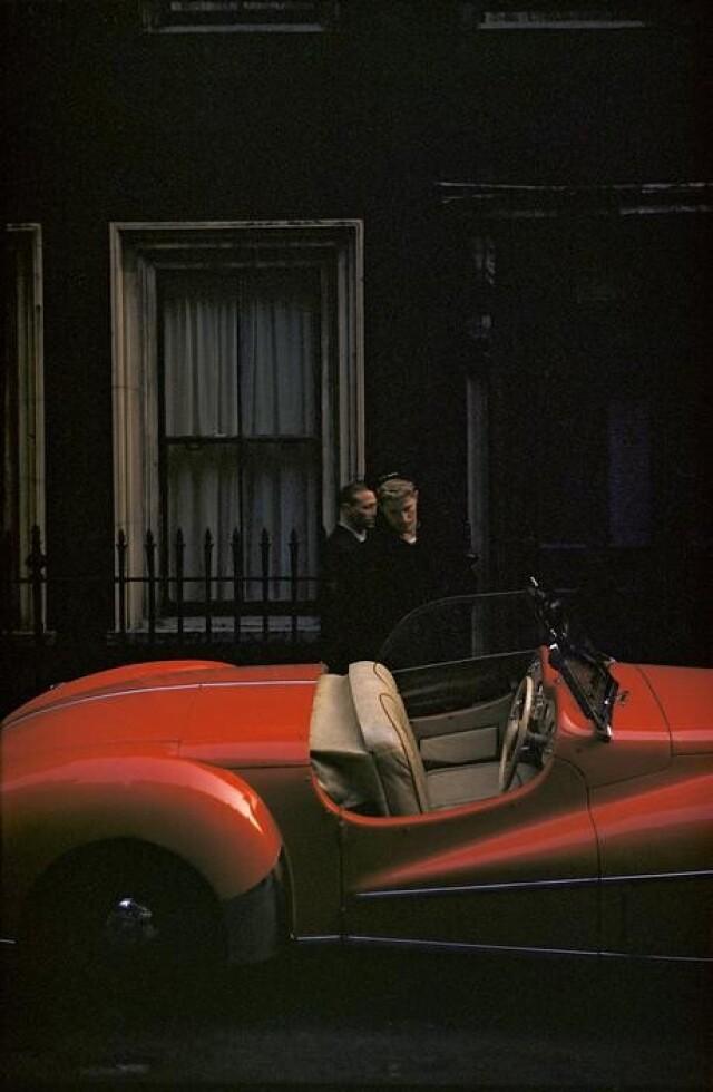 Англия, Лондон, 1953 год. Фотограф Инге Морат