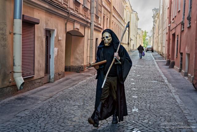 Улица Репина, Санкт-Петербург. Фотограф Александр Петросян