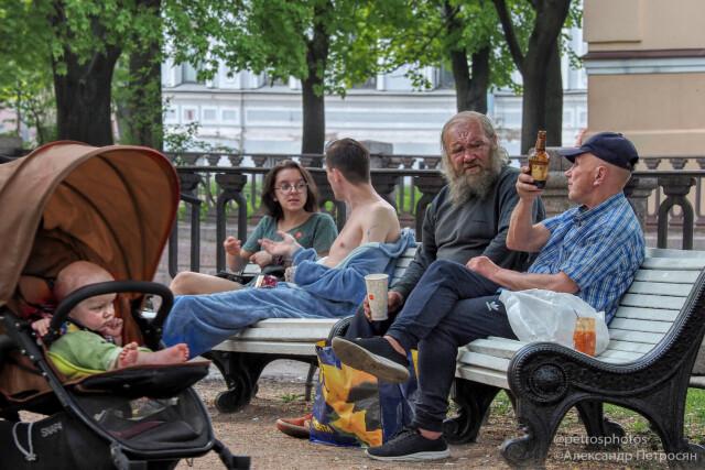 Уличные персонажи. Фотограф Александр Петросян