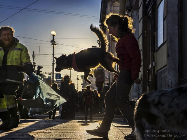 Будни Невского проспекта. Фотограф Александр Петросян 1