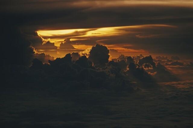 Небо, 1976. Фотограф Эрнст Хаас