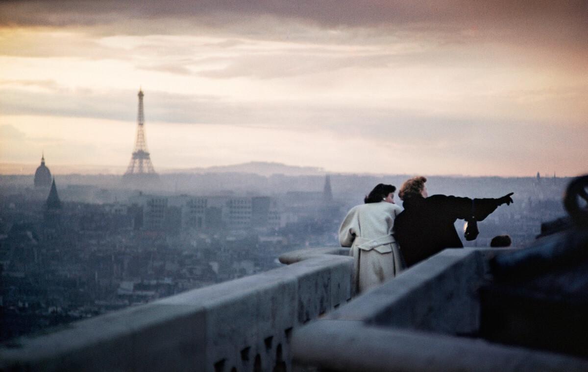 Париж, 1955. Фотограф Эрнст Хаас